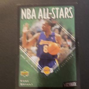 NBA All Star Kobe Bryant basketball card Lakers